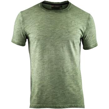 textil Hombre Camisetas manga corta Lumberjack CM60343 004 517 Verde