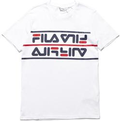 textil Hombre Camisetas manga corta Fila 687474 Blanco