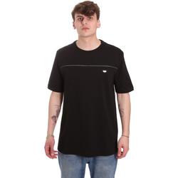 textil Hombre Camisetas manga corta Antony Morato MMKS01696 FA100144 Negro
