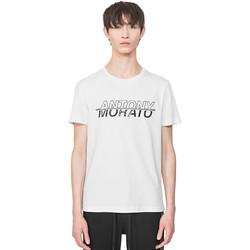 textil Hombre Camisetas manga corta Antony Morato MMKS01816 FA100144 Blanco
