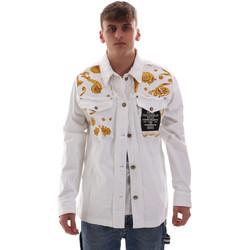 textil Hombre Chaquetas Versace C1GVB92GHRC33003 Blanco