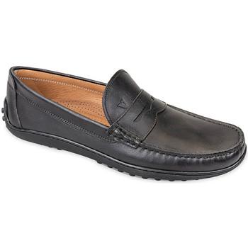 Zapatos Hombre Mocasín Valleverde 11840 Negro