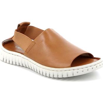 Zapatos Mujer Sandalias Grunland SA2538 Marrón