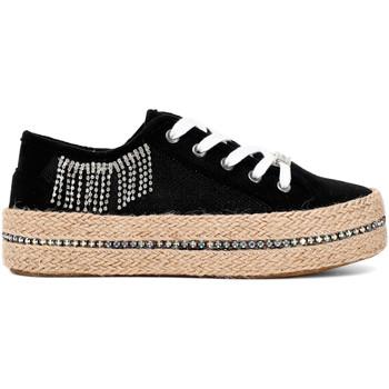 Zapatos Mujer Zapatillas bajas Café Noir DG934 Negro