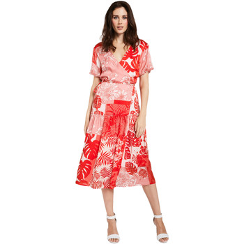 textil Mujer Vestidos cortos Gaudi 011FD15014 Rojo