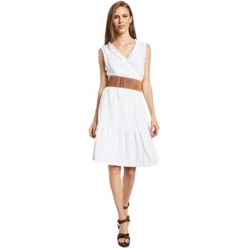 textil Mujer Vestidos cortos Gaudi 011BD15037 Blanco
