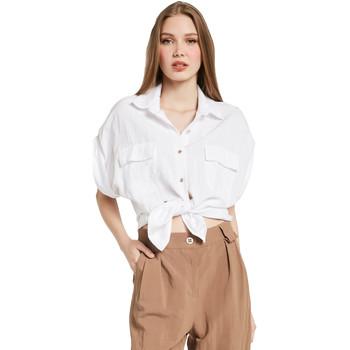 textil Mujer Camisas Gaudi 011BD45030 Blanco