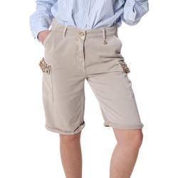 textil Mujer Shorts / Bermudas Fracomina FR20SP116 Beige