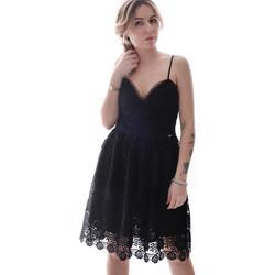 textil Mujer Vestidos cortos Fracomina FR20SP531 Negro