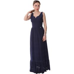 textil Mujer Vestidos largos Fracomina FR20SP588 Azul