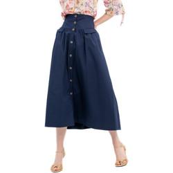 textil Mujer Faldas Fracomina FR20SP133 Azul