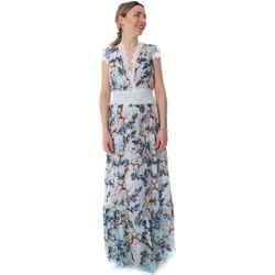 textil Mujer Vestidos largos Fracomina FR20SP432 Azul