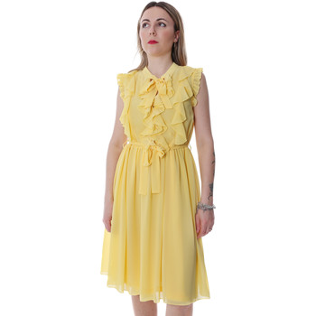 textil Mujer Vestidos cortos Fracomina FR20SP536 Amarillo