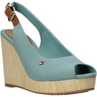 Zapatos Mujer Sandalias Tommy Hilfiger FW0FW04789 Verde