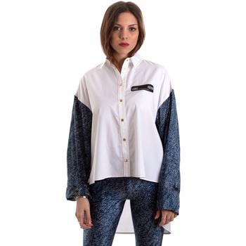textil Mujer Camisas Versace B0HVB606S0683904 Blanco