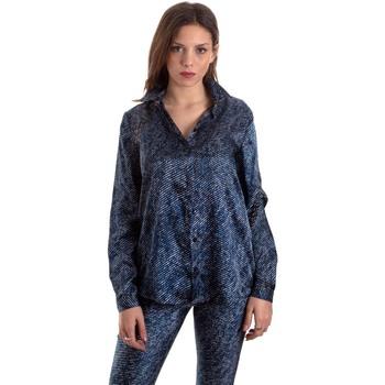textil Mujer Camisas Versace B0HVB601S0683904 Azul
