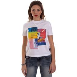 textil Mujer Camisetas manga corta Versace B2HVB7V630331003 Blanco