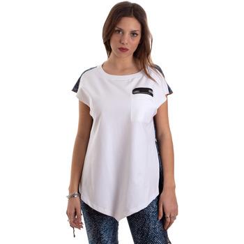 textil Mujer Camisetas manga corta Versace D3HVB657S0683904 Blanco