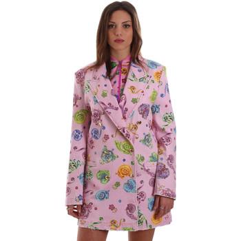 textil Mujer Chaquetas / Americana Versace C2HVB507SN75SK69 Rosado