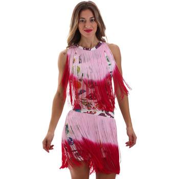 textil Mujer Vestidos cortos Versace D2HVB406S0777K67 Blanco