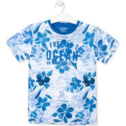 textil Niño Camisetas manga corta Losan 013-1003AL Azul