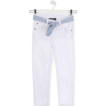 textil Niños Vaqueros slim Losan 014-9011AL Blanco