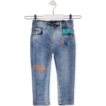 textil Niños Vaqueros slim Losan 015-6022AL Azul