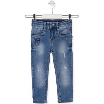 textil Niños Vaqueros slim Losan 015-9008AL Azul