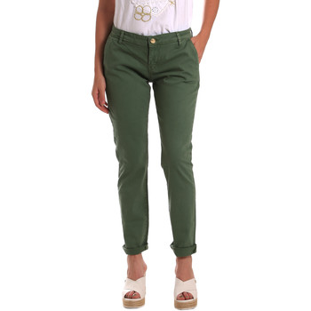 textil Mujer Pantalones chinos Gaudi 811BD25009 Verde