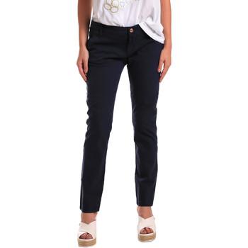 textil Mujer Pantalones chinos Gaudi 811BD25009 Azul