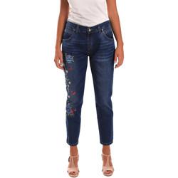 textil Mujer Vaqueros slim Y Not? 18PEY096 Azul