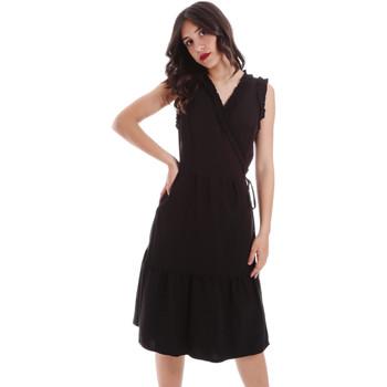 textil Mujer Vestidos cortos Gaudi 011BD15037 Negro
