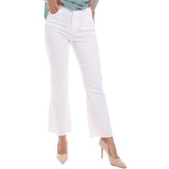textil Mujer Vaqueros bootcut Gaudi 011BD25017 Blanco