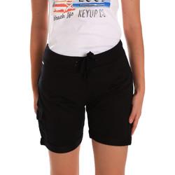 textil Mujer Shorts / Bermudas Key Up 5G75F 0001 Negro