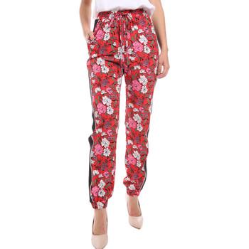 textil Mujer Pantalones fluidos Gaudi 011BD25032 Rojo