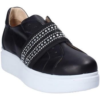 Zapatos Mujer Slip on Exton E05 Negro