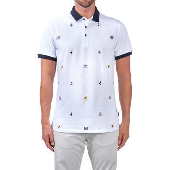 textil Hombre Polos manga corta Navigare NV82120 Blanco