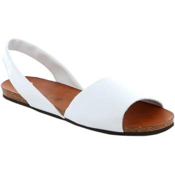 Zapatos Mujer Sandalias Grunland SB1623 Blanco