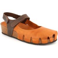 Zapatos Mujer Alpargatas Grunland SB1260 Marrón