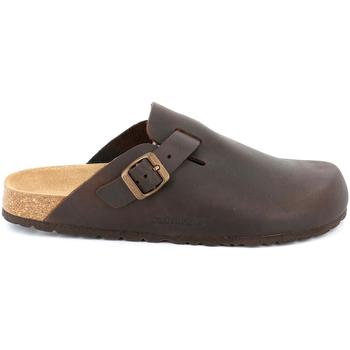 Zapatos Hombre Zuecos (Clogs) Grunland CB7034 Marrón