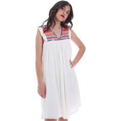 textil Mujer Vestidos cortos Gaudi 011BD15007 Beige