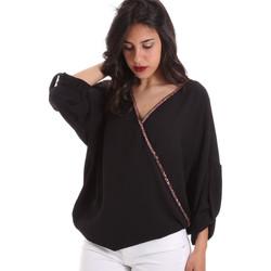 textil Mujer Tops / Blusas Gaudi 011BD45026 Negro