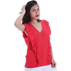 textil Mujer Tops / Blusas Gaudi 011BD45031 Rojo