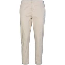 textil Mujer Pantalones chinos Café Noir JP232 Beige