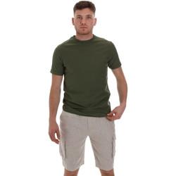 textil Hombre Camisetas manga corta Sseinse ME1548SS Verde