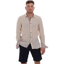 textil Hombre Camisas manga larga Sseinse CE538SS Beige