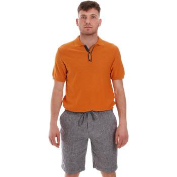 textil Hombre Polos manga corta Sseinse ME1528SS Naranja