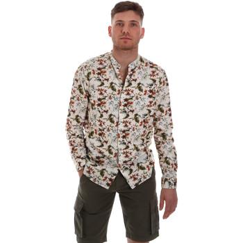 textil Hombre Camisas manga larga Sseinse CE526SS Beige