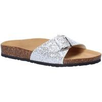 Zapatos Mujer Zuecos (Mules) Bionatura 05FULLTGSCI3 Gris