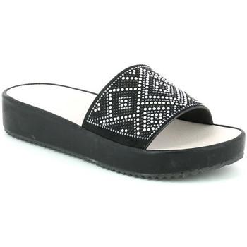 Zapatos Mujer Zuecos (Mules) Grunland CI1287 Negro